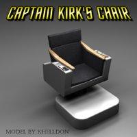 Captain Kirk's Command Chair - Star Trek TOS