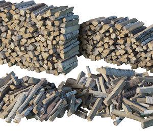 firewood wood model