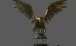 phoenix statue 3D model