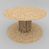 Coffee Table: OSB (Wire Spool)