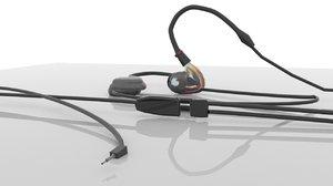 hearing device ear model