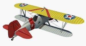 boeing f4b4 3D model