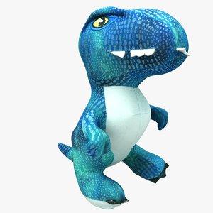 plush dinosaur 3D