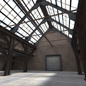 3D warehouse interior scenes