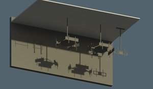 revit 2015 wall mount 3D model