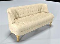 olympia sofa 3D