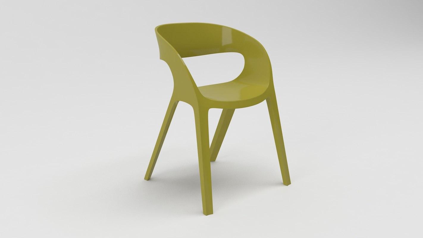 3D model carla chair