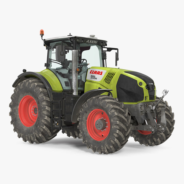 3D model claas axion 800 tractor