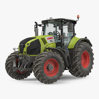 claas axion 800 tractor model