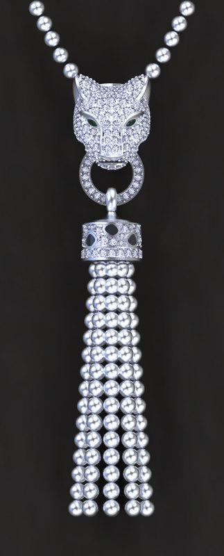 pendant jewelry 3D