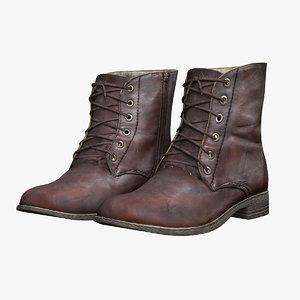 3D shoes fashion boots
