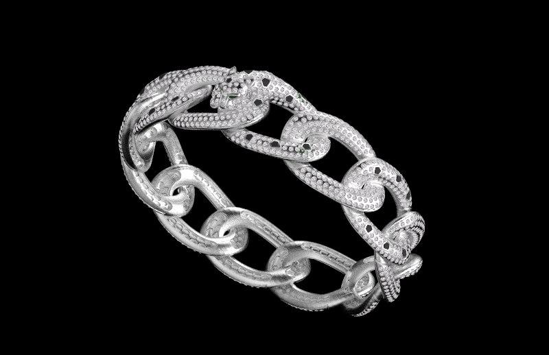bracelet jewelry 3D model