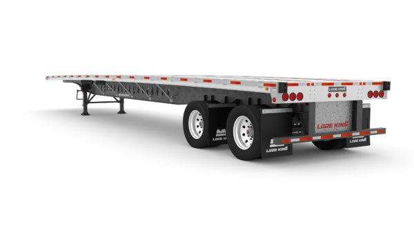 semi trailer renown 48 3D model