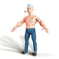 3D sailor model