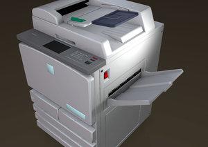 copy machine 3D model