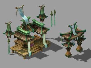 religion - taigong 32 3D model