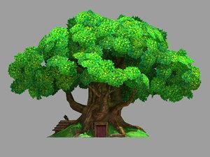3D plant - tree house