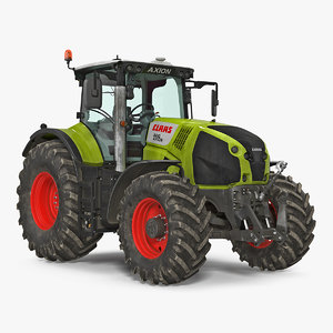3D claas axion interior dirty