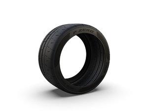 3D pirelli p zero trofeo model