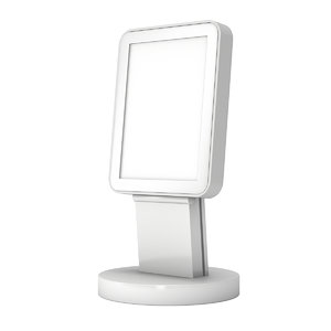 3D lcd screen stand video