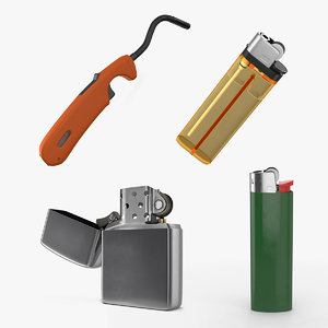 lighters 2 3D model
