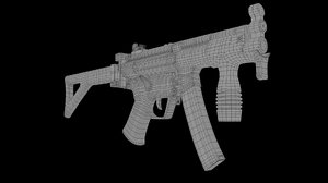 3D hk gun heckler koch model
