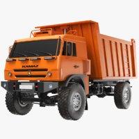 3D trash truck