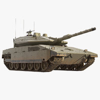 merkava mk4 main battle tank model
