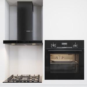 3D kitchen appliances