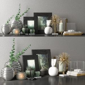 3D decorative set 09