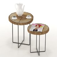 coffee tables slabs 3D