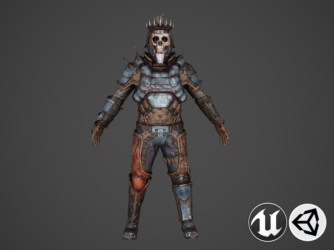 war knight armor model