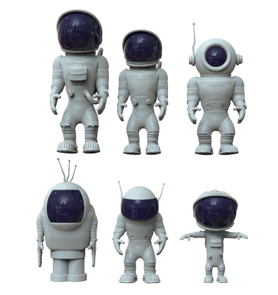 satellite craft model