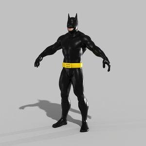3D bat dude