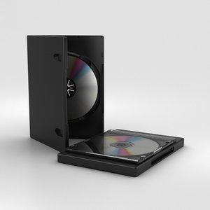 3D cd disk model