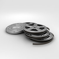 video film reel 3D