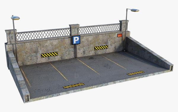 3D parking model
