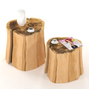table stump 3D