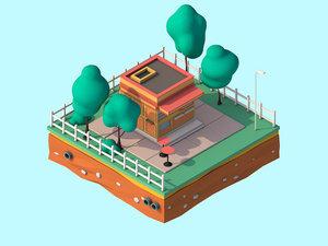 3D design cartoon