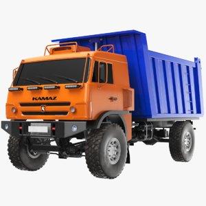 trash truck 3D model