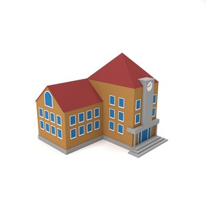 3D ready school building