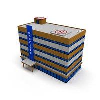 ready hospital building 3D model
