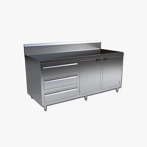 commercial cabinet 3D model