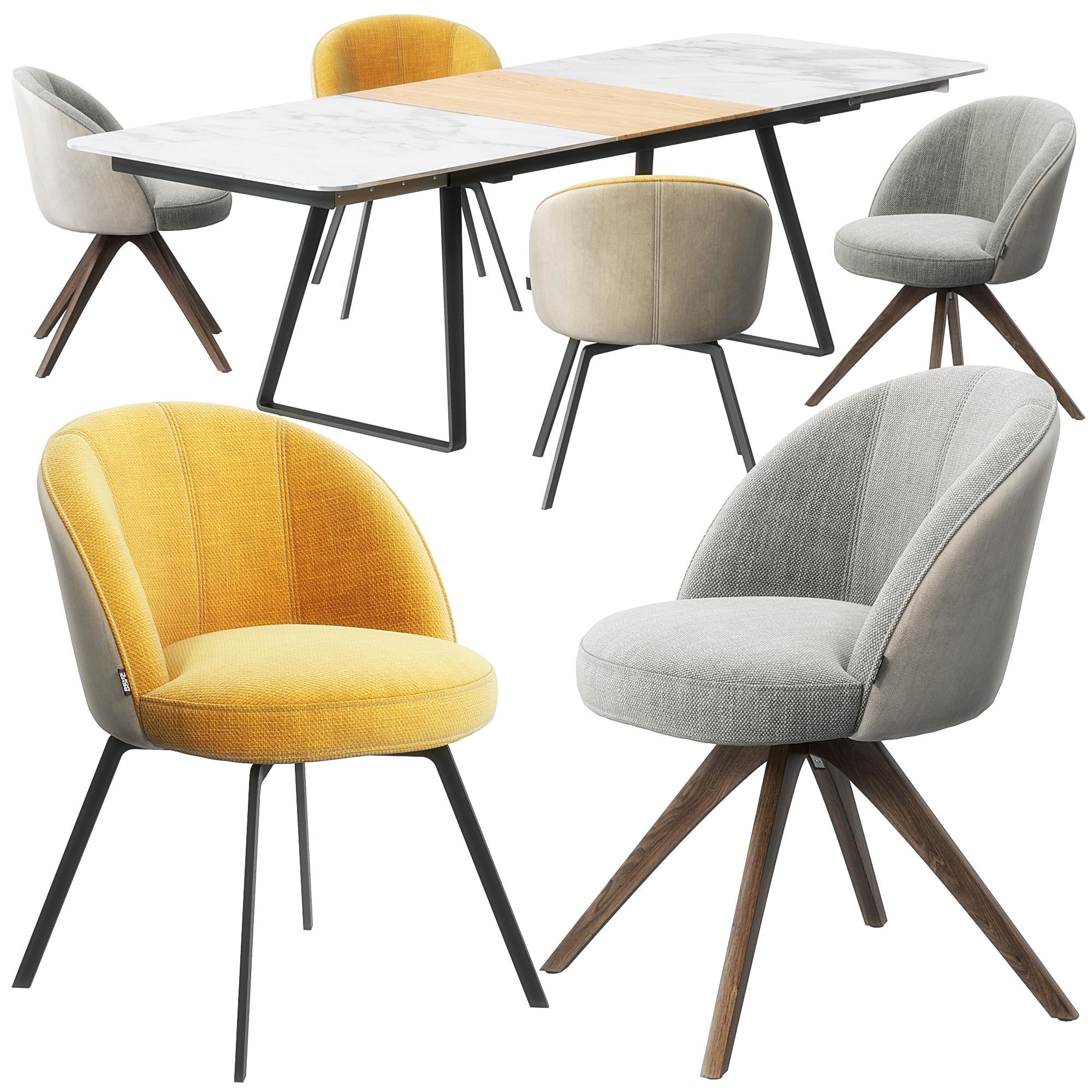 Rolf Benz 629 Stuhl 939 Tisch