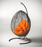 Swing casulo pendurado cadeira rotativa