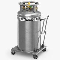 3D model nitrogen dewar