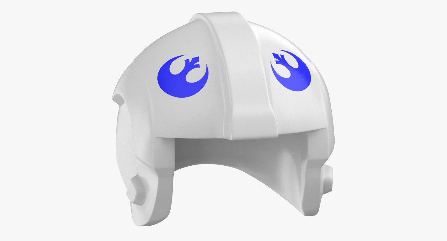 lego star wars rebel 3D model