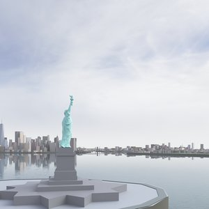 new york city 2019 3D