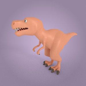 toy dinosaur 3D