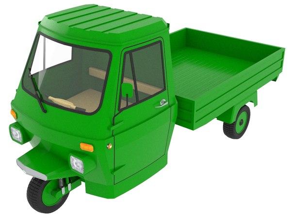 3D model wheel pickup